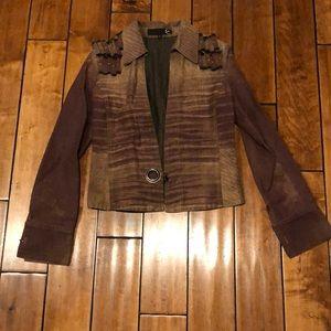 Roberto Cavalli jean jacket